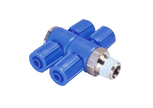 THT(D2) #twotouch #tightennuts #plastictwotouch #air #pneumatic #fitting #connector #connecter #tubeconnecter #pipe #tubeconnector #nipple #hoseconnector